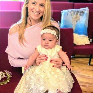 Off shoulder Sparkled Lilic poet top mini dress